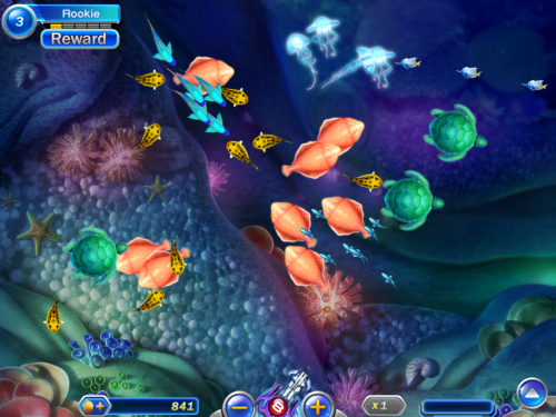 Video-Gaming Fish Play Out the Advantages of Groups