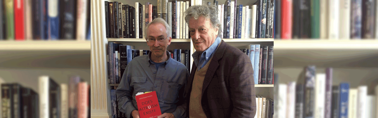 The Playwright And The Scientist: A Conversation Between Tom Stoppard And David Sloan Wilson
