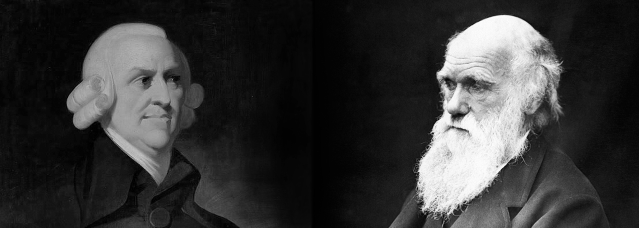 Adam Smith is stuck without Charles Darwin