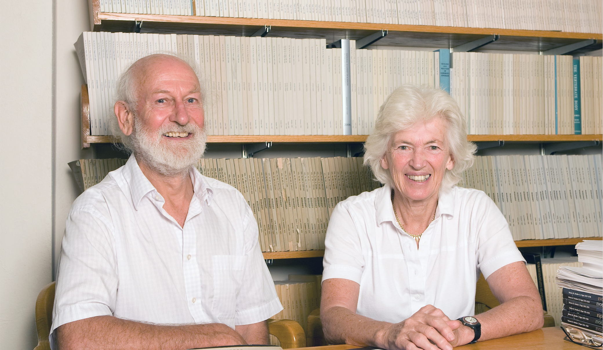 When Evolutionists Acquire Superhuman Powers:  A Conversation with Peter and Rosemary Grant