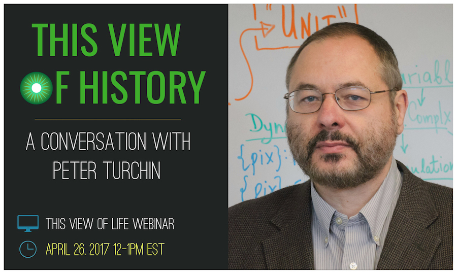 This View of History Webinar: A Conversation With Peter Turchin