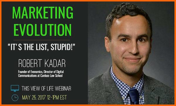 Marketing Evolution Webinar: It's the List, Stupid!