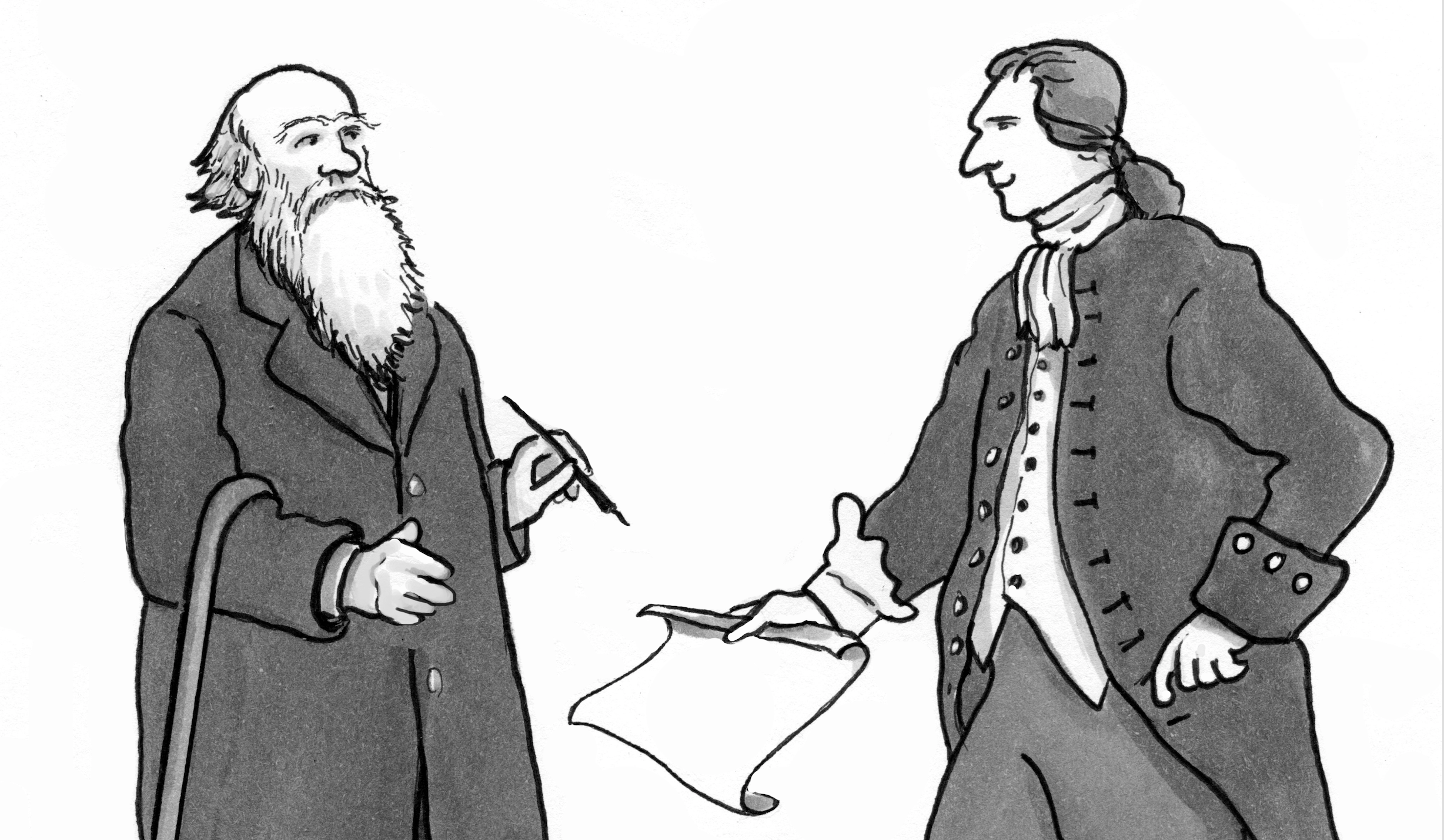 Darwinizing the Federalist Papers: Preamble