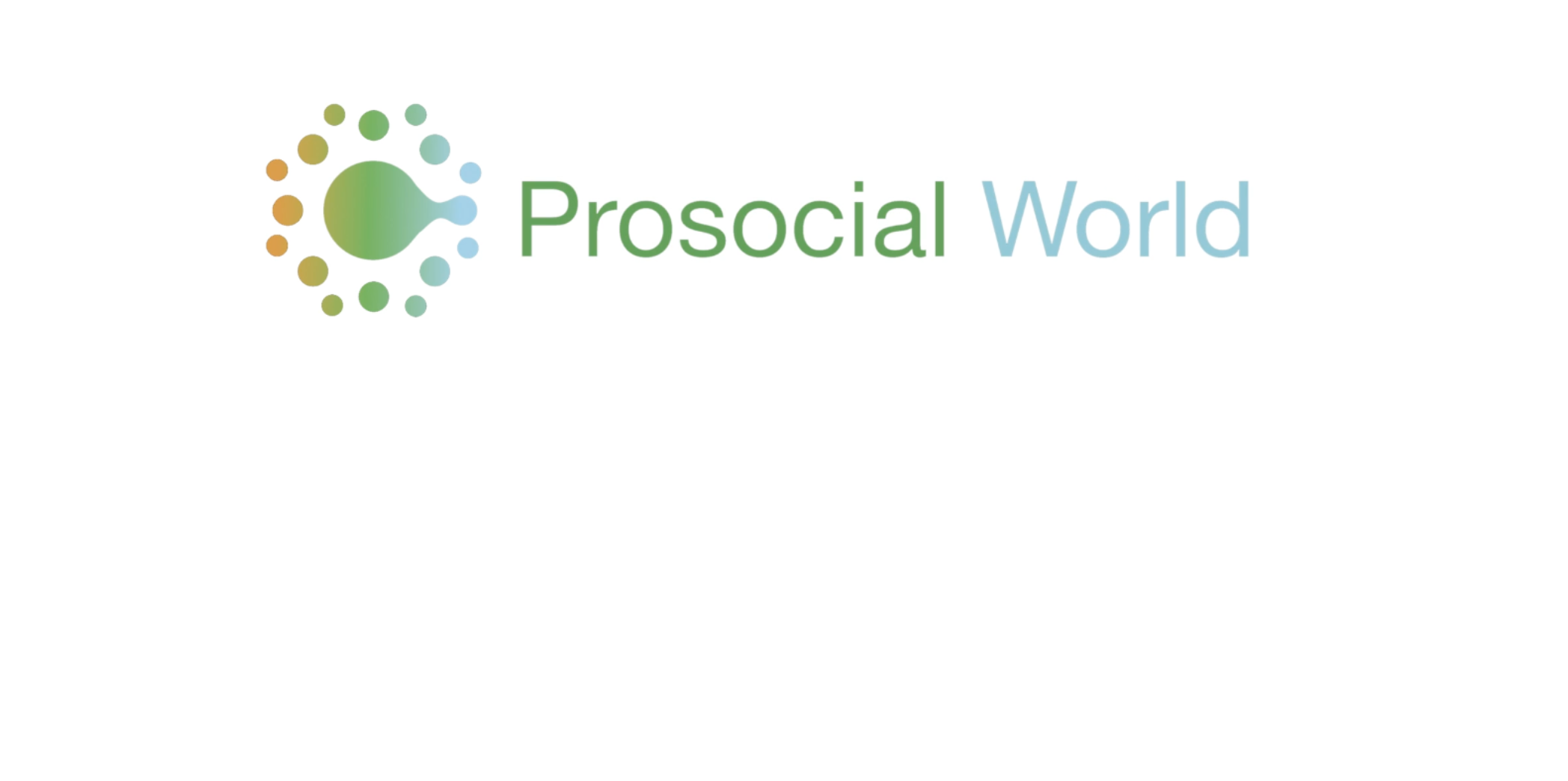 To Adapt to Your Current Challenges, Try this Speed Version of Prosocial